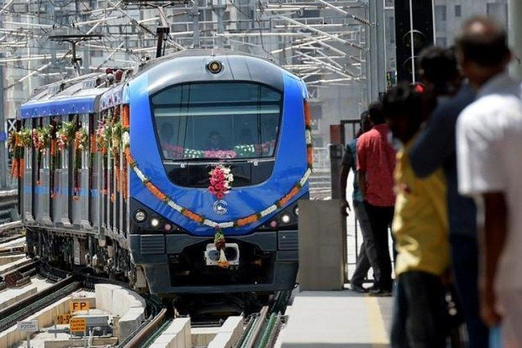Chennai Metro Rail Limited launched Feeder service at flat rate of Rs.10