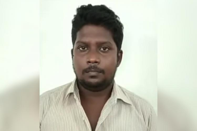 Accused Arun Christopher (25) of Muthamizh Nagar