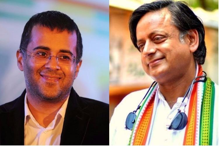 Chetan Bhagat asks why SC is targeting Hindu festivals gets schooled by Tharoor