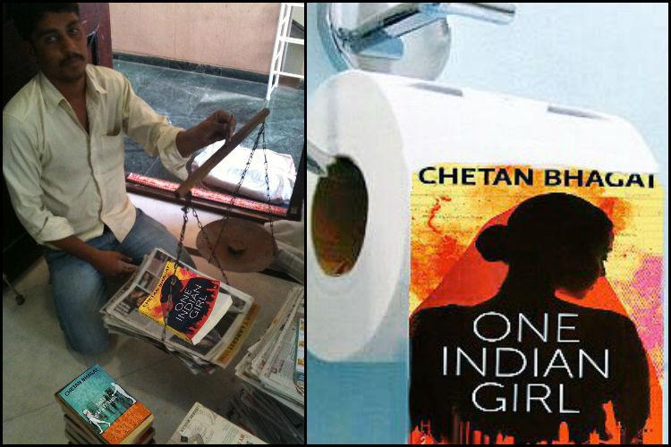From Raddiwalas to Chaddiwalas Twitters hilarious responses to Chetan Bhagats latest
