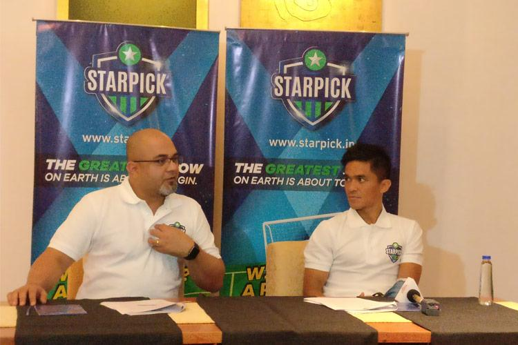 Ahead of FIFA World Cup StarPick launches fantasy league along with Sunil Chhetri