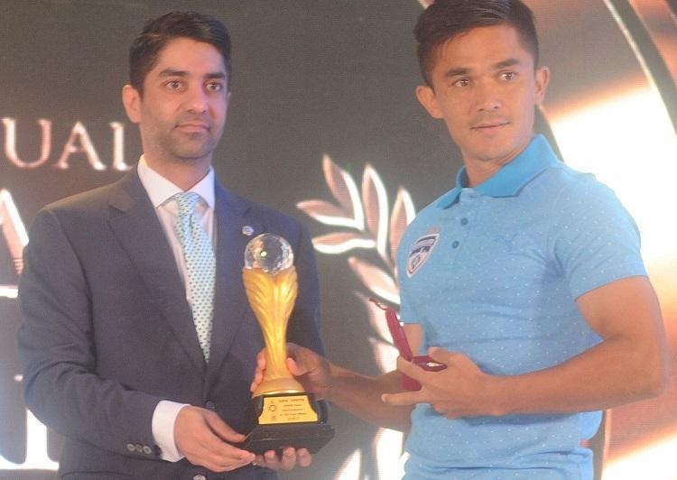Bengaluru FCs Sunil Chhetri bags top honours at ACT Fibernet-SWAB awards