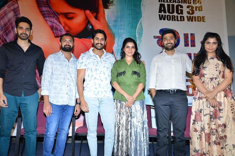 Nagarjuna unveils Chi La Sow trailer