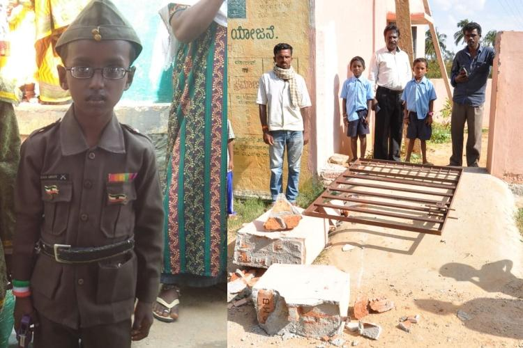 7-yr-old Ktaka boy dies after school compound wall collapses on him
