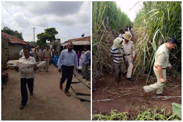 Karnataka man rapes kills 3-year-old niece buries her in sugarcane field