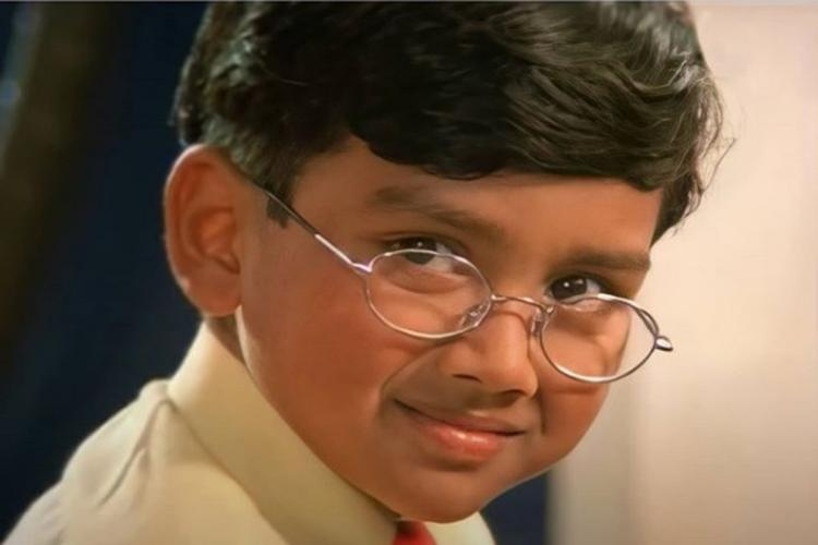 Kalidas Jayaram shares still from first film as child