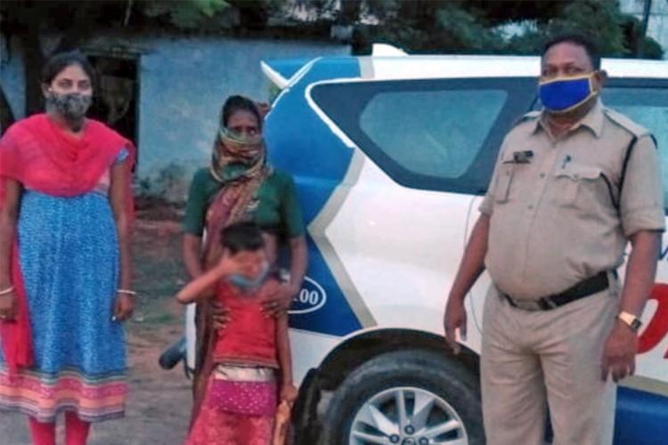 A four year girl child was rescued and reunited with her mother hours after missing