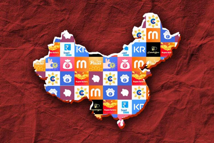 The exact number of Chinese national owned instant loan apps are not known