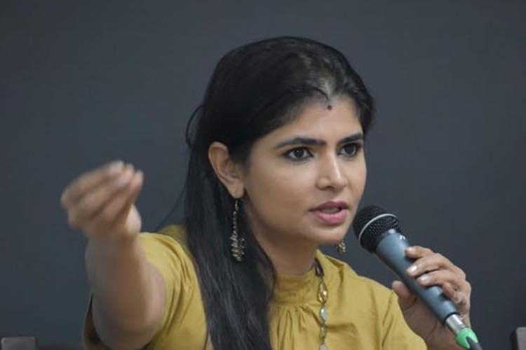 Singer Chinmayi to contest against Radha Ravi in dubbing union elections