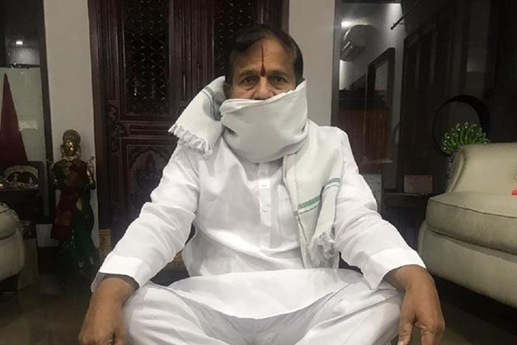 Telangana BJP leader Ramachandra Reddy tests positive for coronavirus
