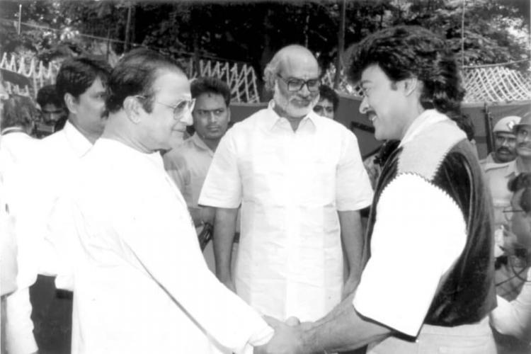 N T Rama Rao Chiranjeevi