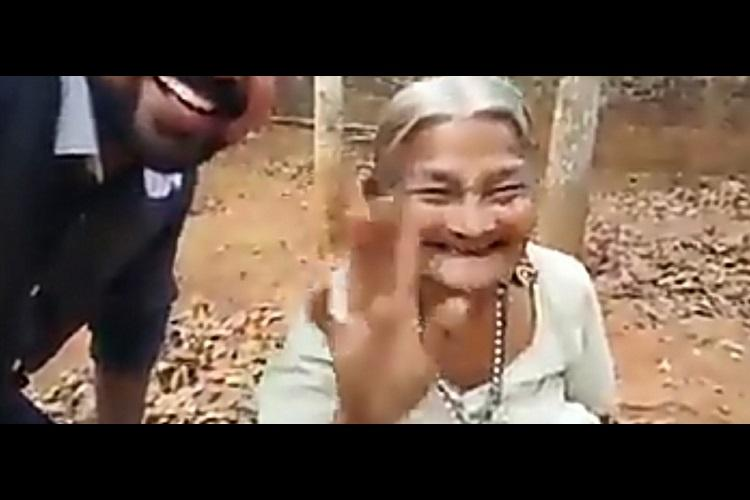 The 94-year-old Chiri Ammachi of Kerala cant stop laughing and the Internet loves her