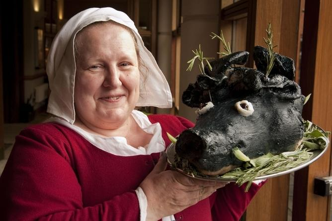 What would you have eaten for Christmas in medieval times