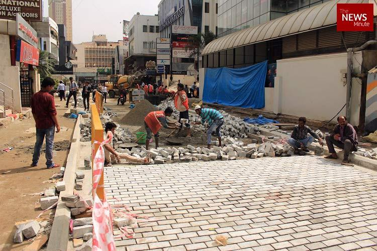 3 deadlines missed Why Bengalurus Church Street construction is delayed