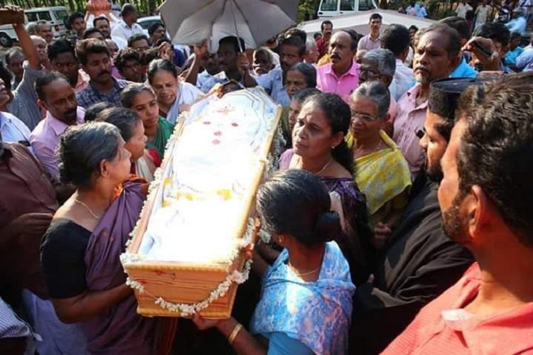 Caught in church feud another Kerala persons burial delayed