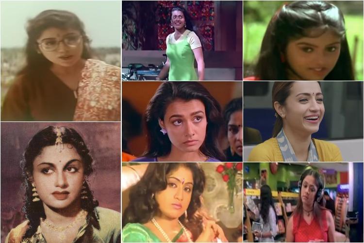 Nadhiya hoops Khushbu blouses 96 kurta A look at fashion inspired by Tamil cinema