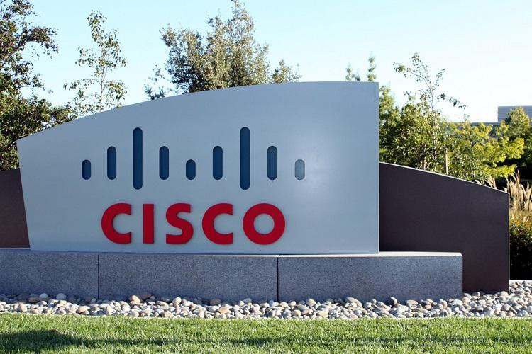 Cisco logo at its San Jose headquarters in the US which is facing a lawsuit