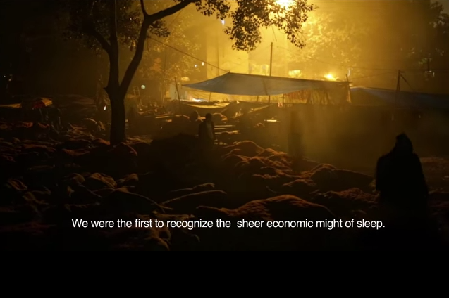 Documentary Sleep-mafias and sleep-cinema communities in Delhi