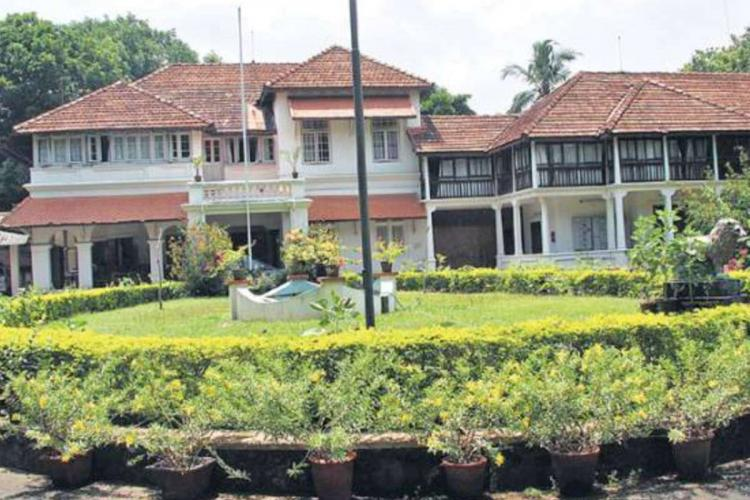 Cliff House official residence of Kerala Chief Minister
