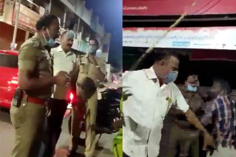 TN cops beat up boy after argument over shop curfew timings rights body issues notice