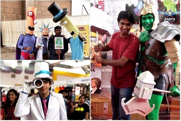 In Pictures Anime DC and Marvel fans steal the show at Comic Con Hyderabad