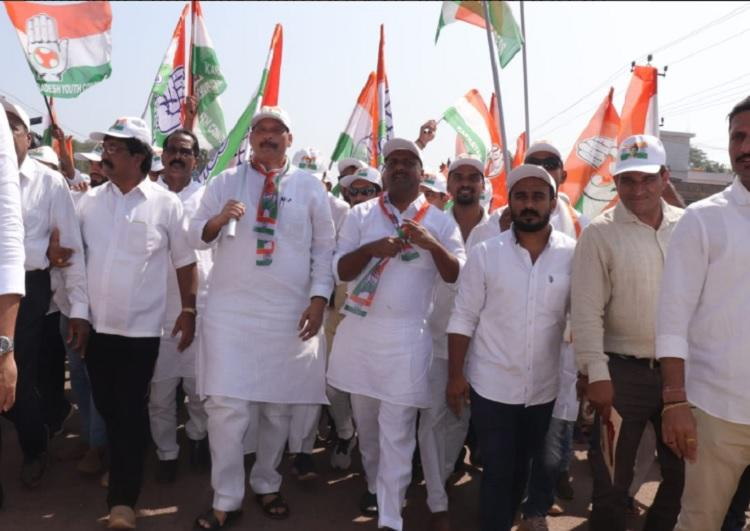 Cong declares 3-day padayatra in Mangaluru to protest halting of work on NH-75