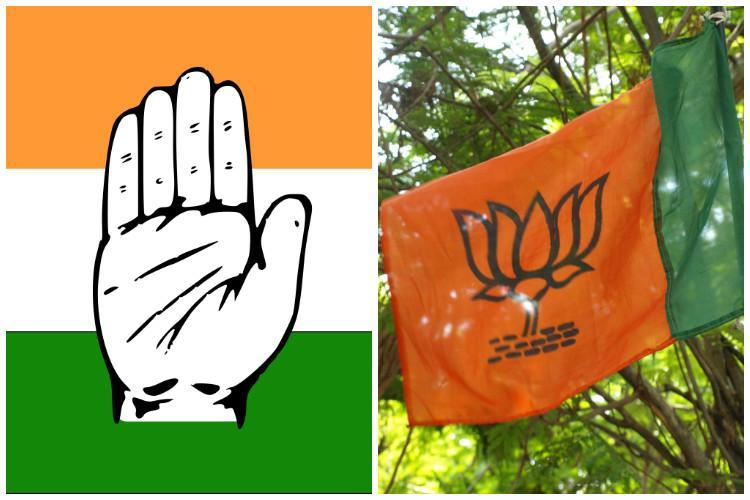 Karnataka urban body polls Cong wins 982 seats BJP finishes second highest with 929
