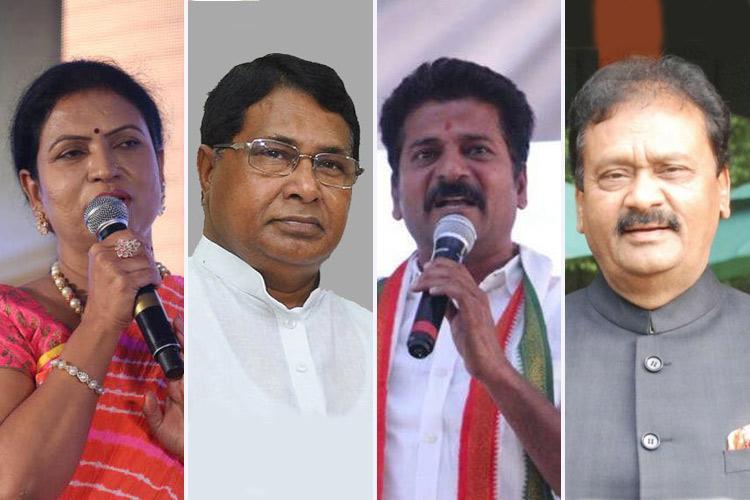 DK Aruna Jana Reddy Revanth Reddy When Congress bigwigs were defeated in Telangana
