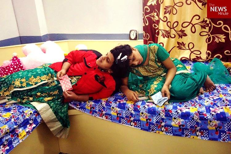 Two girls their hopes and dreams In conversation with Hyderabad conjoined twins Veena-Vani