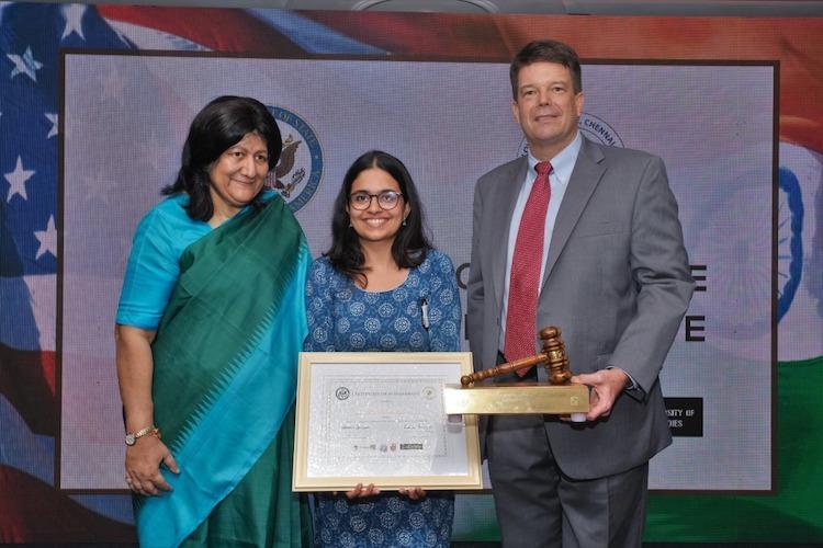 Bengaluru law student wins US-India Comparative Constitutional Law Debate