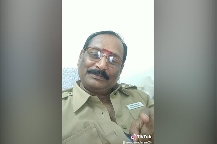 Work hard be jolly Chennai cop who went viral on Tik Tok for Vaa Vennila