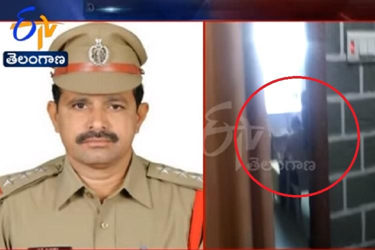 Hyderabad cop caught on camera getting massaged by subordinate probe initiated