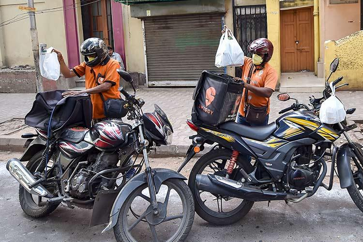 Getting groceries or food home delivered Here are precautions you can take