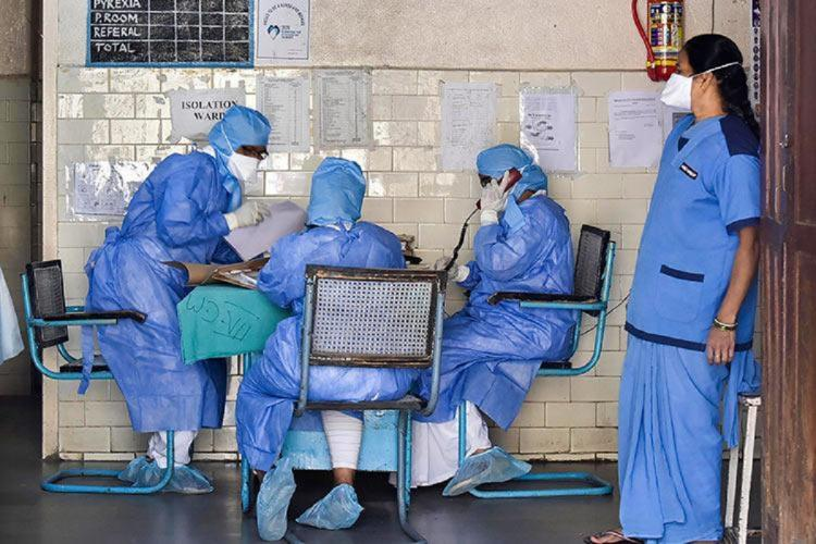 Frontline workers during the coronavirus pandemic in India