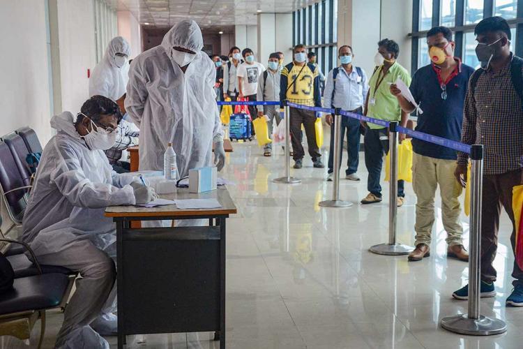 Coronavirus rep image of airport in Dibrugarh