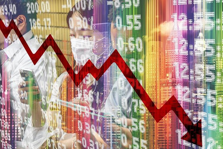 COVID-19 Stock markets continue downward spiral Sensex loses over 2800 points