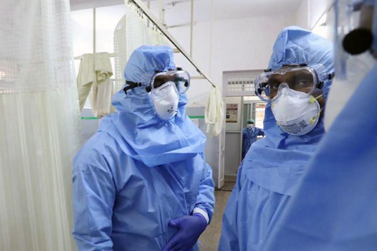 Frontline workers amid the coronavirus in India