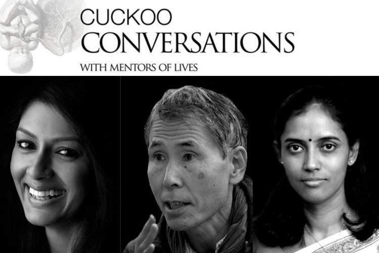 Cuckoo conversations collage Nandita Das Jothimani Keibo