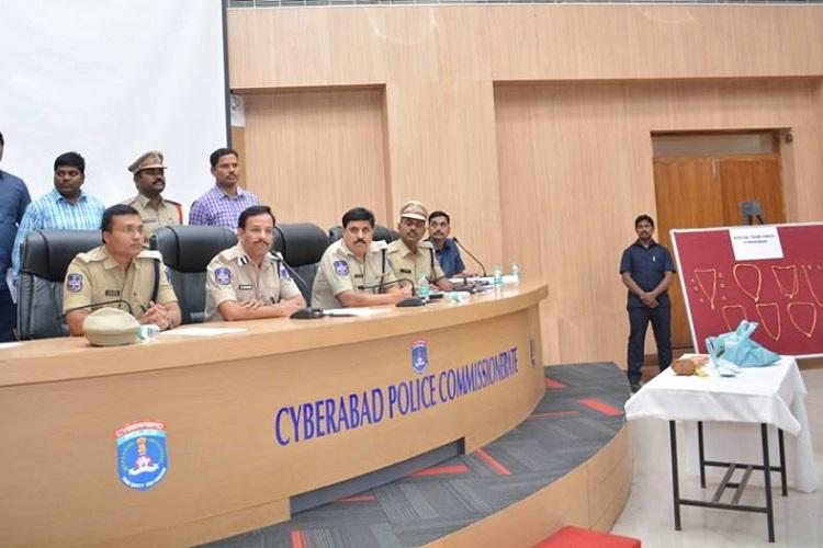 Two chaddi gang members involved in 8 robberies arrested by Cyberabad police