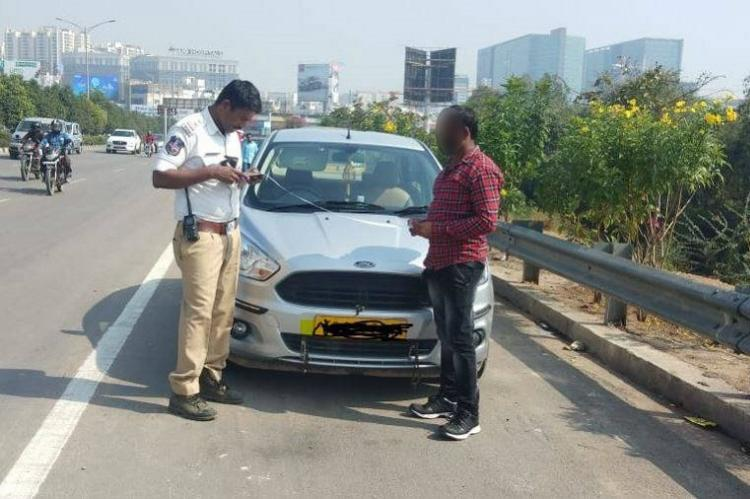 Hyderabads worst drivers finally caught with 222 unpaid fines