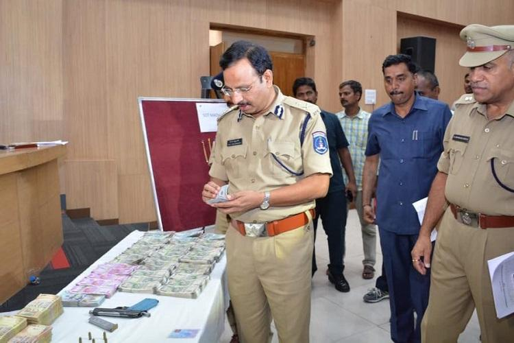 Man arrested by Hyderabad cops for allegedly robbing 30000 dollars at gunpoint