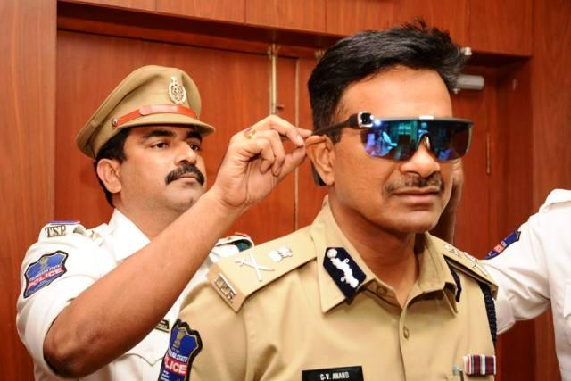 After body cameras Cyberabad Traffic Police launches eye-worn cameras