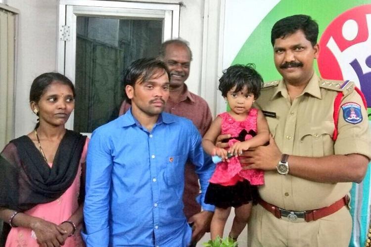 Cyberabad police crack kidnap case of toddler within a day arrest labourer