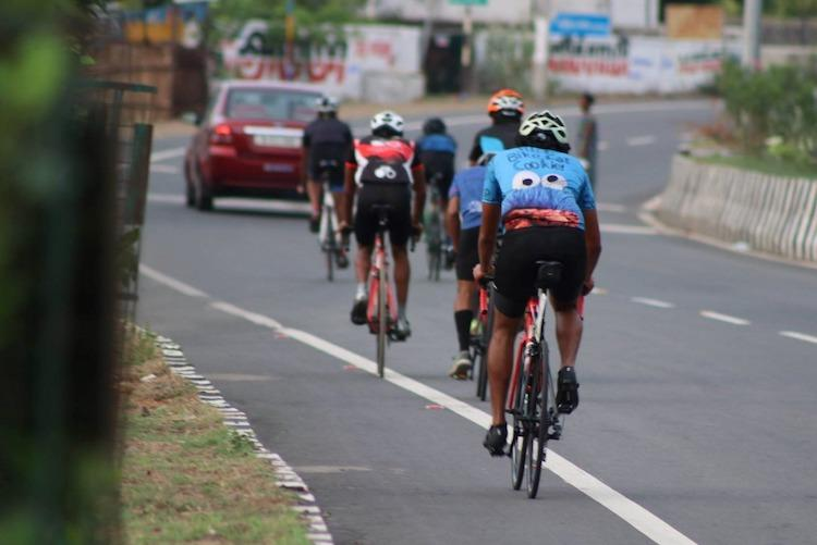 Chennais cyclists fight bad infrastructure in struggle to promote green transportation
