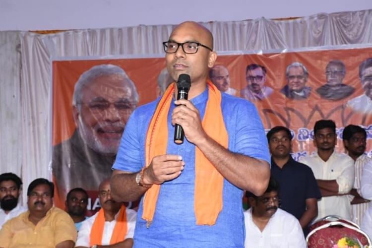 Telangana BJP MP Arvind says he wants to rename Nizamabad as Induru