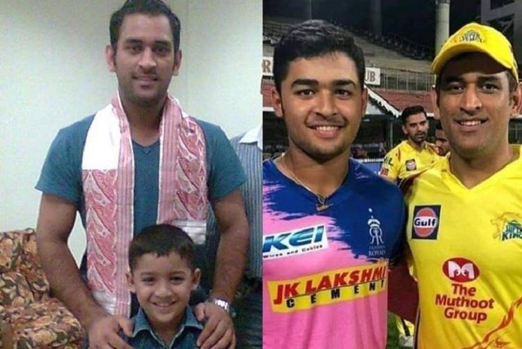6-year-old fan turned IPL rival The story behind Riyan Parag and MS Dhonis photo
