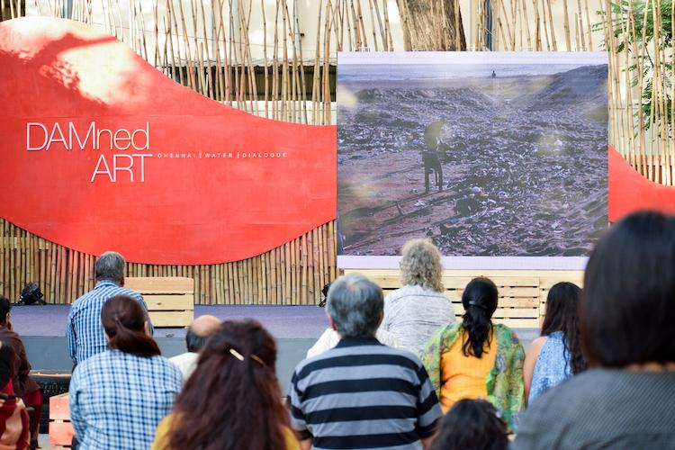 Centered around Cooum installations at Chennais art fest raise the right questions