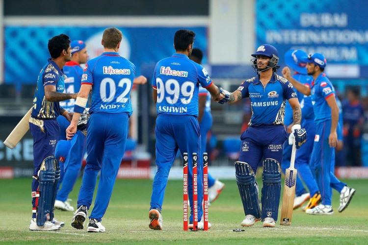 MI coast to 9-wicket win over DC