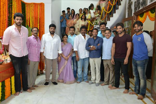 Chiranjeevis 150th film launched at grand function