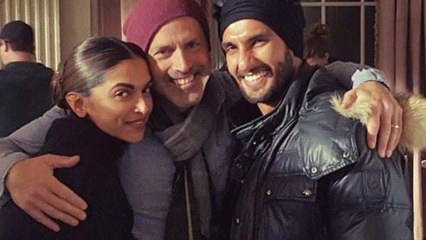 When cool dude Ranveer Singh visited Deepika Padukone on xXx 3 sets